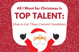 All I Want for Christmas is Top Talent