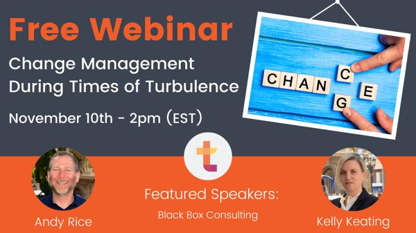 Change Management Webinar BT Email Banner
