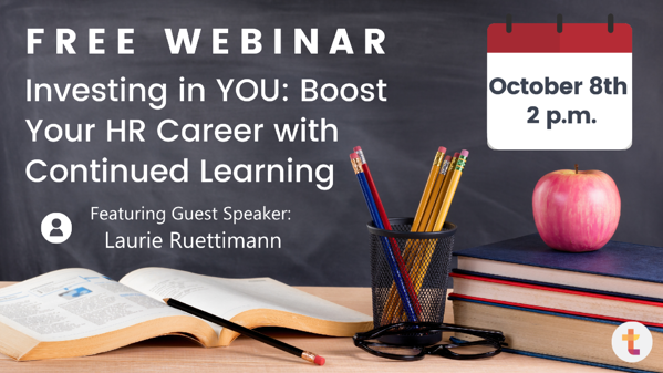 Investing in YOU - Boost Your HR Career with Cont Learning Header Image
