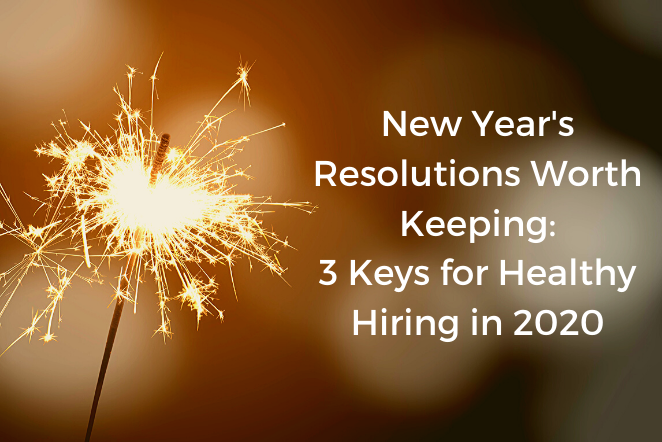 New Years Resolutions Worth Keeping...