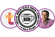 Social Hour Podcast logos